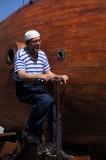 marinero pedaleando