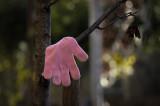 Guante rosa