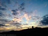 Hadleigh Castle sunset