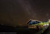 Part of Arborek Jetty at night