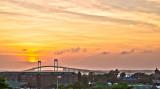 Sunset Over Newport