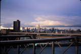 The New York Skyline from the Brooklyn Bridge