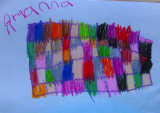 'Colors in my net' By Adrianna