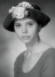 Girl In The Rose Hat