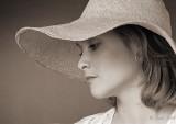 Girl in the Hat.