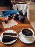Coffee break and a cake...