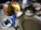 homemade marble cake... it's bábovka...!