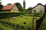 here in Bohuňov, a family house once rose from this garden