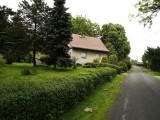 ...a large house once stood