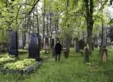 ...we visit an historic Jewish cemetery
