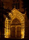 Korbach, Figurenportal der Kilianskirche
