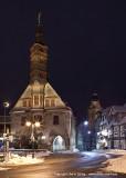 Rathaus, Stechbahn und Kilianskirche