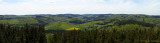 Panoramablick vom Dommelturm über Rattlar zum Hochheideturm auf dem Ettelsberg