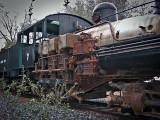 Shay-locomotive