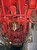 Eine Dampflok von unten  -  Under a steam-locomotive