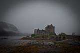 Eilean Donan Castle im Regen