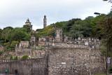 Cemetary at Holyrood Palace