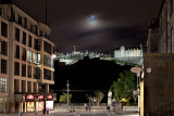 Edinburgh Castle, Blick von der Castle Street