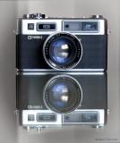 Die zweite Kamera, die ich besaß und benutzte (Yashica Electro 35)