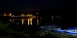Die Beleuchtung der Edertalsperre von der Seeseite