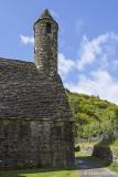 Die Kirche, die noch ihr erstes Dach hat