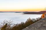 Ein Schloss über den Wolken... Schloss Waldeck und der nebelverhangene Edersee