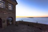 Sonnenaufgang auf Schloss Waldeck   -   Sunset at Waldeck Castle