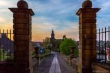 Blick von Schloss Friedrichstein