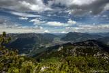 Blick von der Alpspitze auf Garmisch-Partenkirchen