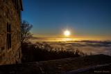 Sonnenaufgang über dem Edersee