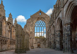 Ruinen der Holyrood Abbey