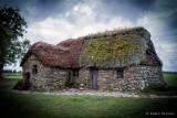 Leanach Cottage, ein trauriger Platz    -   a sad place