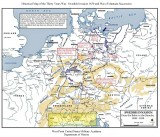 Figure 5. Map of the Thirty Years War: Swedish Invasion. Copyright: Dept of History, West Point Military Academy