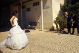 Bride on platform