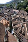 Vieille ville et place du Bourg