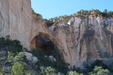 La Ventana Arch in El Malapais National Monument, New Mexico