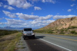 The Jeep in New Mexico on Highway 80