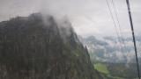 Nous commençons à monter sur le mont Titlis. 3 239 m
