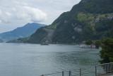 Balade en bateaux sur le lac des Quatre Cantons.