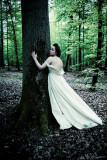 Fairy or girl in white at the end of the Lostlorn Forest , who knows