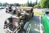 Rat rods at Triple X Root Beer Drive In
