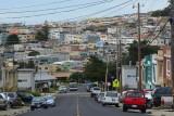 Daly City, South San Francisco and views into San Francisco