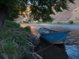Driftboat at Windy Flat