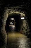Túneles de acceso a la cueva