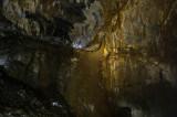 Interior de la cueva. Galería Aranzadi