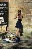 Klara Gomboc La Violinista