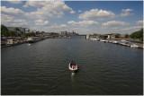 de Maas vanaf de Sint Servaasbrug