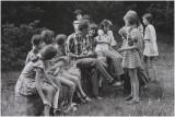 schoolreisje Margraten - picknick onderweg