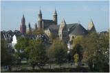 Drie kerkgebouwen in het centrum