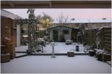 eerste sneeuw in 2015 ...
